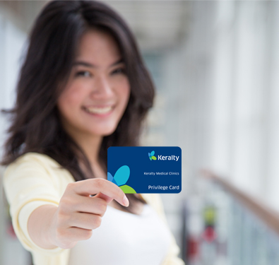 Keralty Health Club card Image